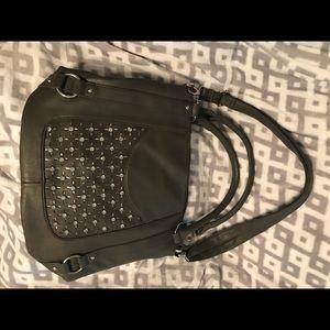 Maurice's shoulder bag